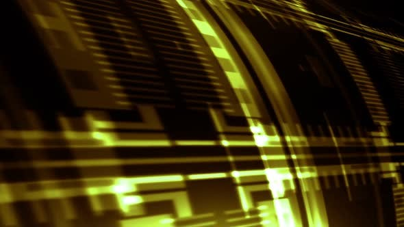 Thumbnail for Abstract Grid Streaks Gold 02