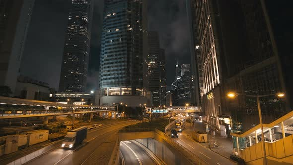 Thumbnail for Car In City Night