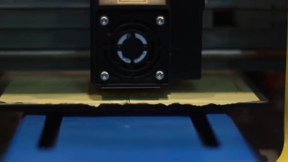 Thumbnail for 3d Printer Works