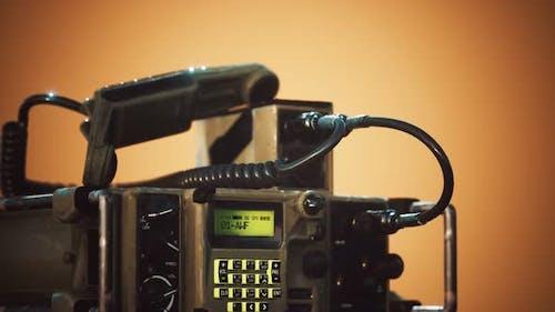 Military Radio Communication Control Panel