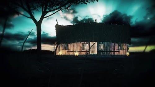 Abandoned Hut House