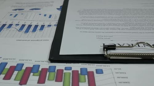 Business Contract And Successful Transaction And Finance