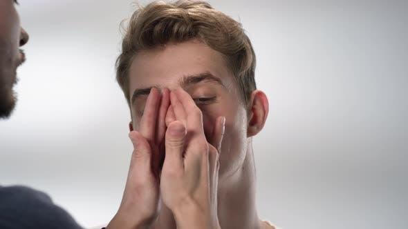 Thumbnail for Male Facial Skin Moisturizing