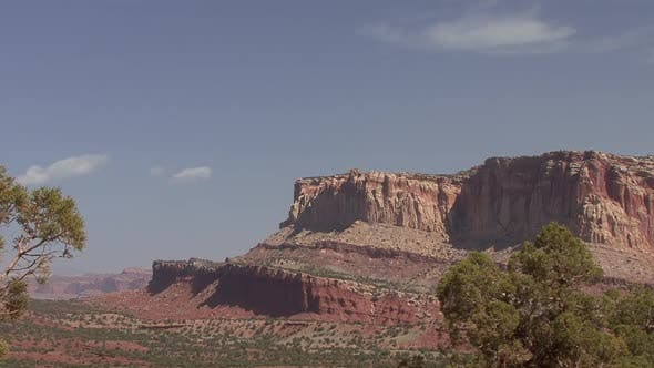 Thumbnail for Desert in Spring Castle Reef Erosion Barren in Capital Reef National Park Utah