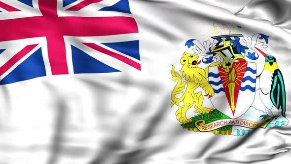 British Antarctic Territory Flag