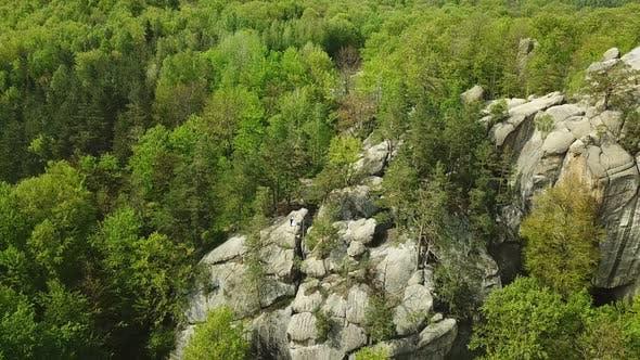 Cover Image for Aerosyomka Rocks Dovbush Western Ukraine