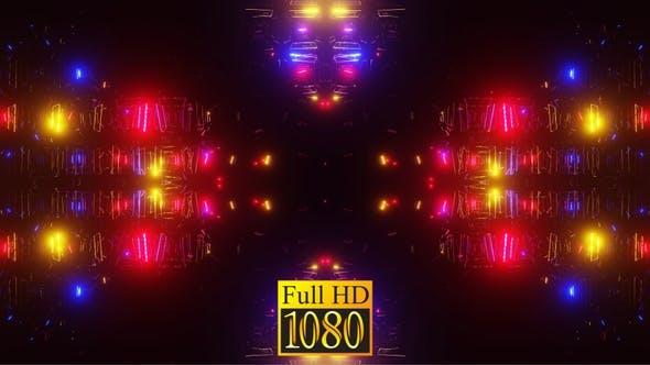 Vj Loop Lichter des Ostens 02 HD