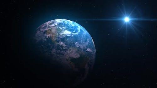Planet Earth Background V2