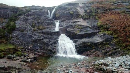 Glencoe Waterfall in Scotland