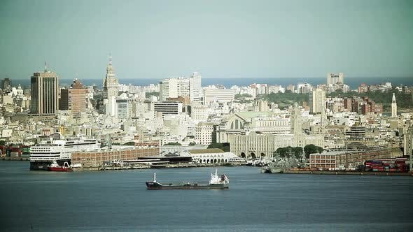 Thumbnail for The Port of Montevideo (Uruguay).