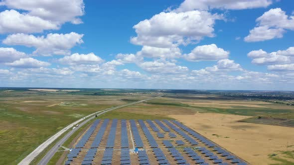 Thumbnail for Solar Panels Aerial View 10