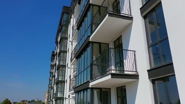 Beautiful design of multistorey building