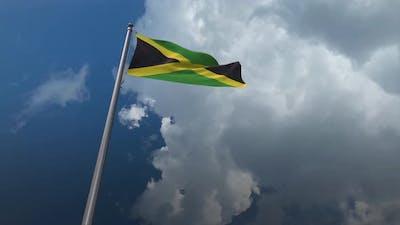 Jamaica Flag Waving 4K