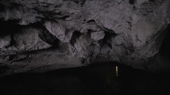 Thumbnail for In Halong Bay in Hanoi, Vietnam Seen River and Grotto
