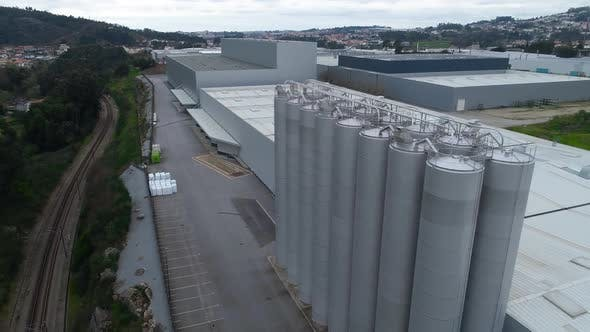 Stainless Steel Tanks for Factory Storage
