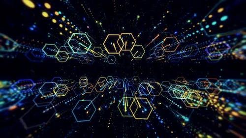 Matrix of Hexagons