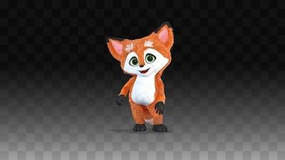 Little Fox Is Shy