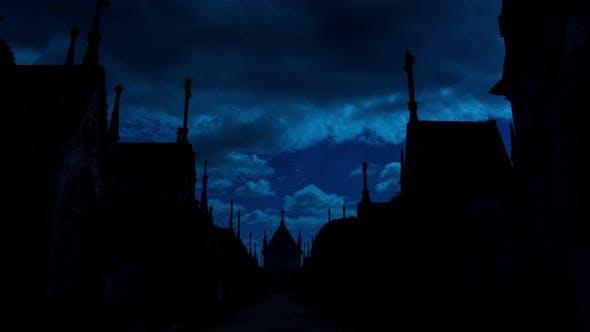 Thumbnail for Graveyard at Night