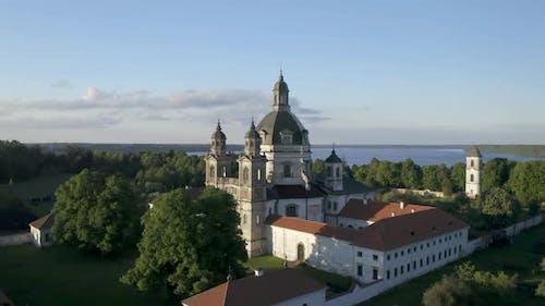 Pazaislis Monastery and Church in Kaunas City