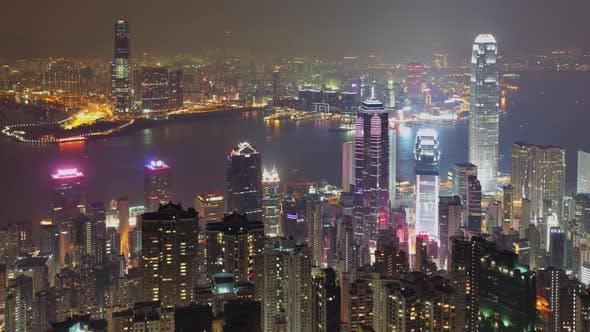 Thumbnail for Hong Kong Skyline Time Lapse