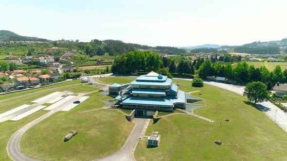 Thumbnail for Business Building Aerial View