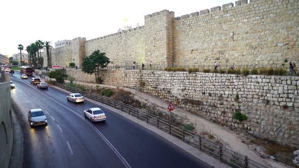 Thumbnail for Jerusalem Old City Wall, Israel