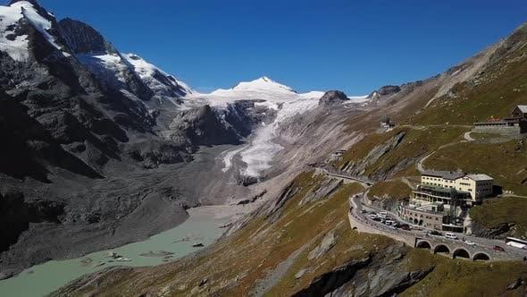 Thumbnail for Aerial of Grossglockner, Austria