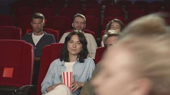 Thumbnail for Group of People in the Cinema