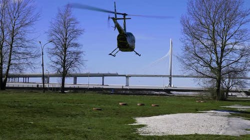 Take Off Helicopter