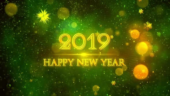 Thumbnail for Happy New Year 2019 Green