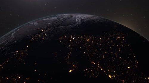 Flying Over Earth