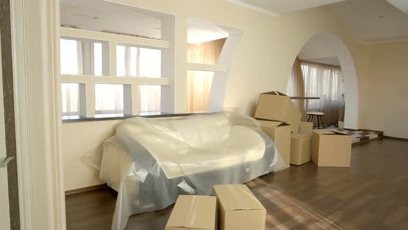 Cardboard Boxes Indoor
