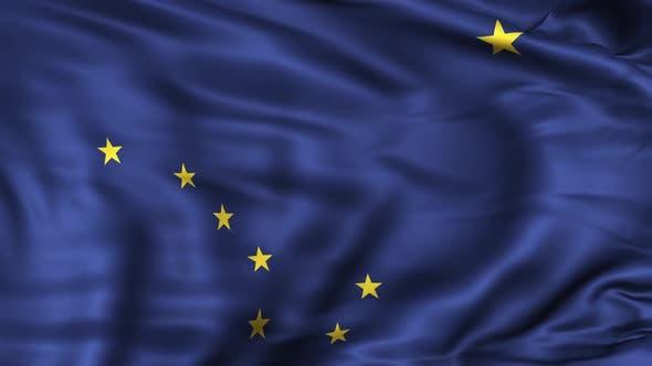 Thumbnail for Alaska State Flag
