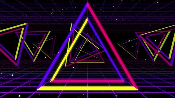 Triangle Neon 02 Hd