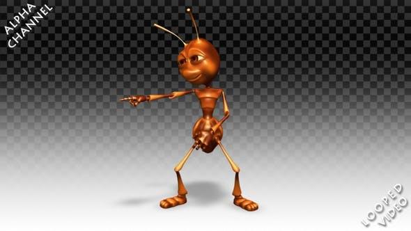 Thumbnail for Comic Ant - Dance Joke