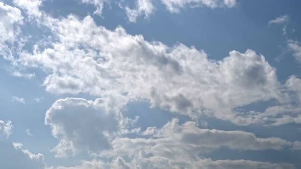 Thumbnail for Time Lapse Of White Clouds