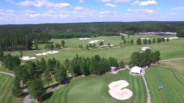 Thumbnail for Golf Course With Green And Sand Bunker