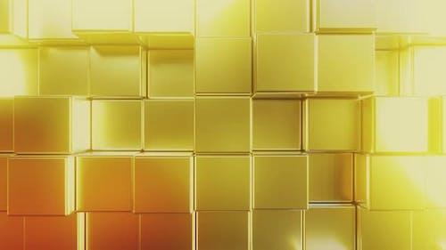 Golden Square Tiles