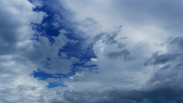 Thumbnail for Timelapse with Clouds Moving
