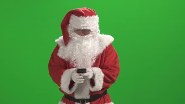 Thumbnail for Santa Claus Against Green Screen