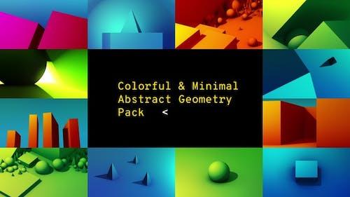 Bunt & Minimal - Abstrakte Geometrie Pack