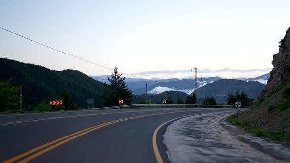 Winding Mountain Roads