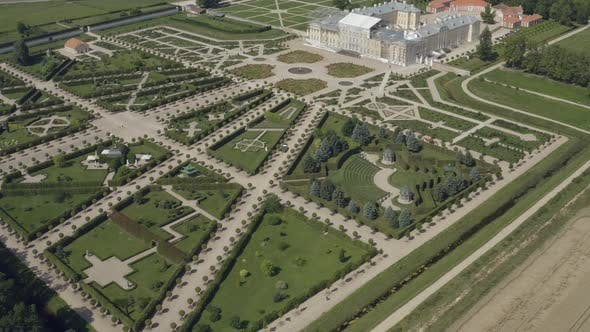 Beautiful Baroque Gardens Next to Rundale Palace, Latvia