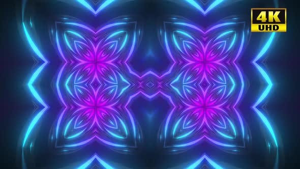 Cover Image for 5 Neon Flower Background Pack