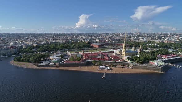 Thumbnail for Flight Around the Peter and Paul Fortress, Russia