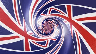 United Kingdom Tunnel Flag Package