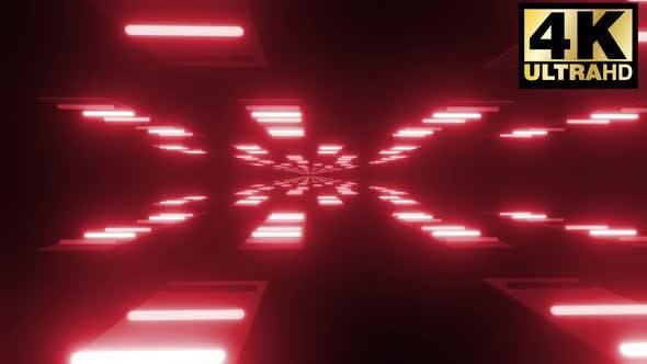 Thumbnail for Endless Neon Light Corridor Pack 4k