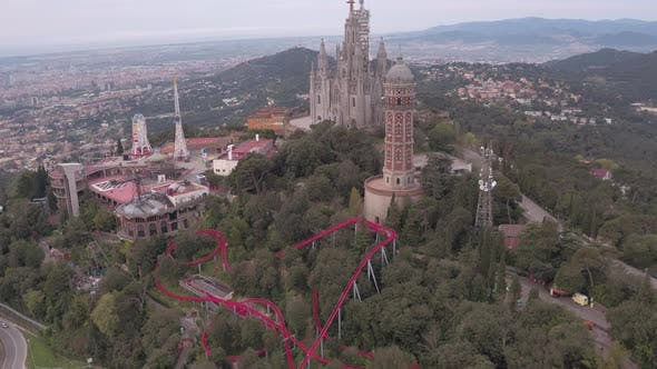 Tibidabo mountain, Barcelona