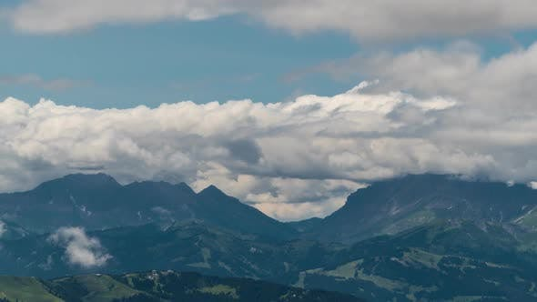 Thumbnail for Clouds Move Over the European Alps Clouds Move Over the European Alps