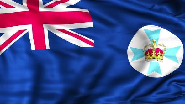 Queensland State Flag